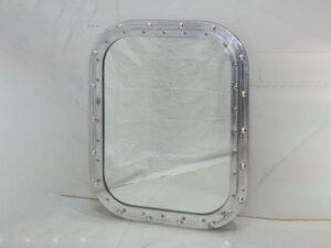 Aluminium Fixed rectangular Portholes