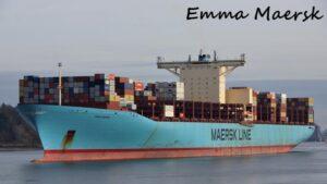 Emma Maersk- World Biggest Ship