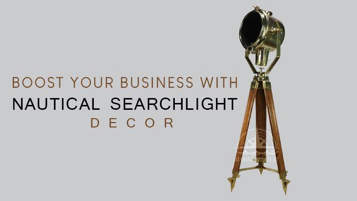 Nautical Searchlight Decor
