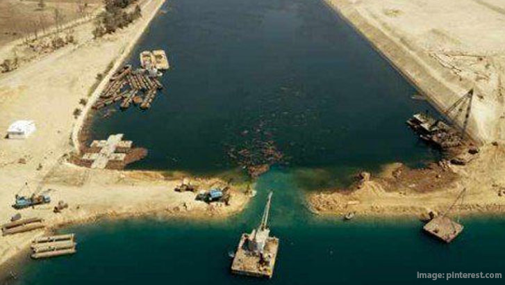 suez canal was opened in the year