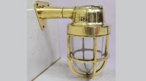 Reclaimed Cargo Ship Brass Passage Light – Wiska